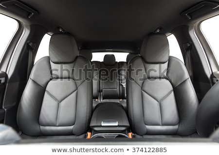 car view from inside the cabin isolate on a white background stock photo © rogistok