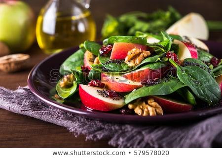 健康 サラダ 皿 実例 フルーツ ストックフォト © colematt