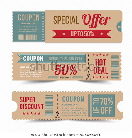 Stock photo: Best Offer of Shop, Saving Money Concept. Presents
