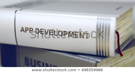 Video Advertising - Business Book Title. 3D Rendering. Stock photo © tashatuvango