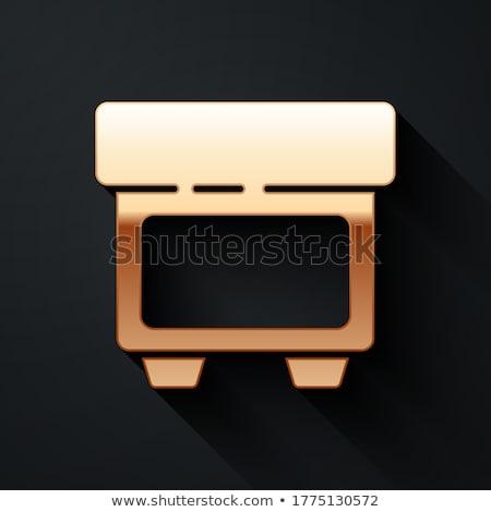 Otomotiv ikon vektör yalıtılmış beyaz düzenlenebilir Stok fotoğraf © smoki
