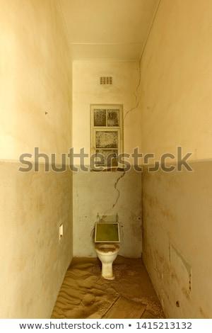 Bathroom in a deserted building, Namibia Stock photo © emiddelkoop