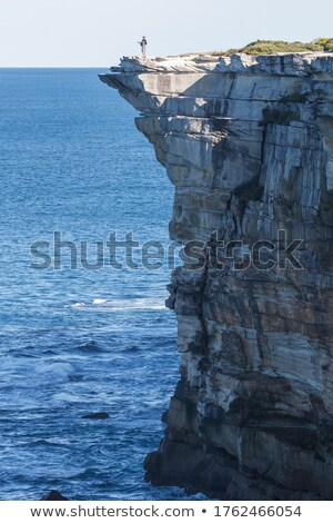 Sydney's cliff top coastline Stock photo © lovleah
