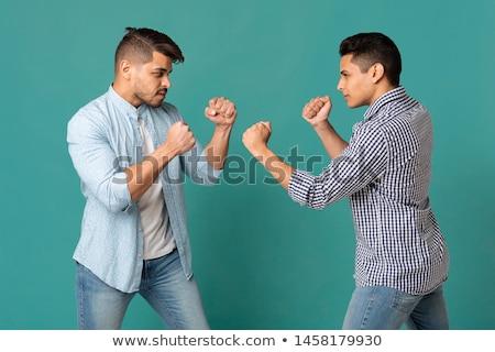 ready to fight stock photo © pressmaster