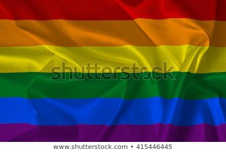 トランスジェンダー 誇り フラグ 青空 クローズアップ ストックフォト © nito