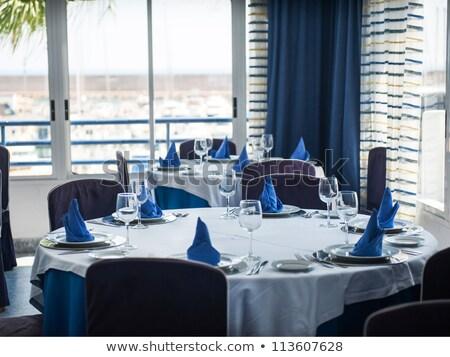 vektör · restoran · menü · süs · çiçekler · doku - stok fotoğraf © robuart