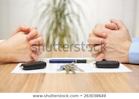 Wife And Husband Splitting House And Car Stock photo © AndreyPopov