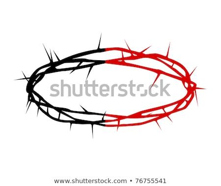 taç · örnek · kan · ölüm · Tanrı · ağrı - stok fotoğraf © mayboro