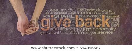 Społeczności wsparcia grupy różnorodny ludzi Zdjęcia stock © Lightsource