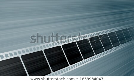 Taśmy filmowej perspektywy tle ramki przemysłu Zdjęcia stock © SArts