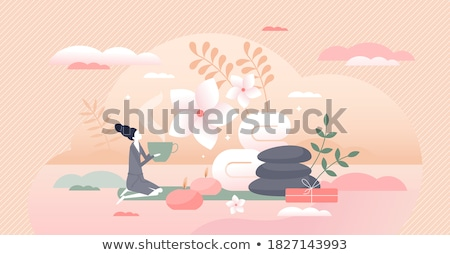 Beauty procedures abstract concept vector illustrations. Stock photo © RAStudio