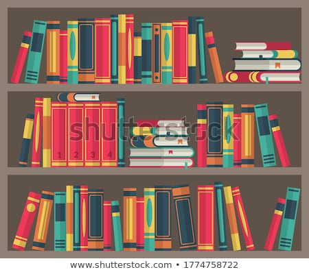 Stack of colorful books Stock photo © magraphics