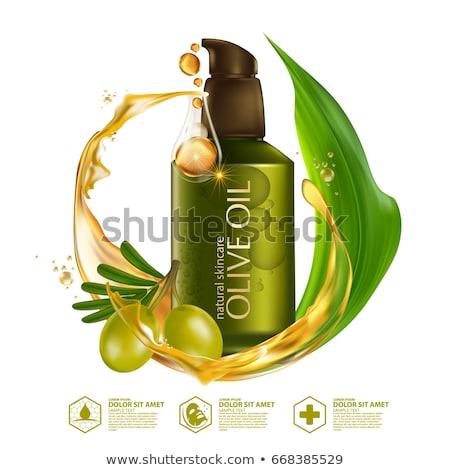 Haj olívaolaj természetes kozmetika organikus lényeg Stock fotó © robuart