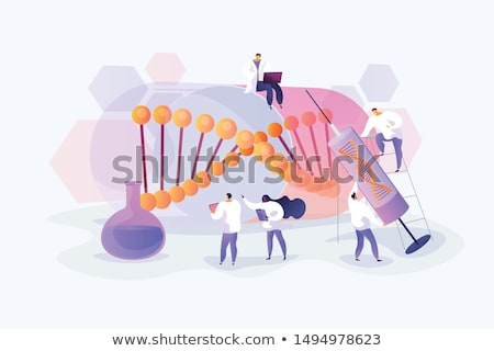 Gene therapy abstract concept vector illustration. Stock photo © RAStudio