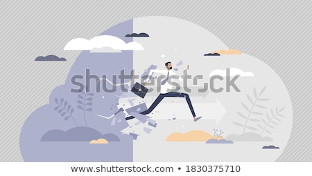 Persistence abstract concept vector illustration. Stock photo © RAStudio