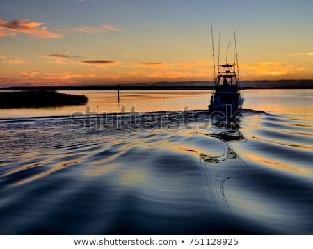 colorido · gira · barcos · paisaje · lago · deporte - foto stock © elenaphoto