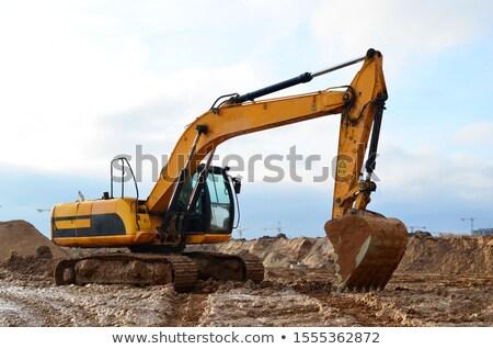 Zwaar bouw machine bodem Stockfoto © gewoldi