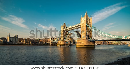 tower bridge and ship stock photo © prill