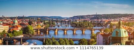 Prague panorama Stock photo © photocreo