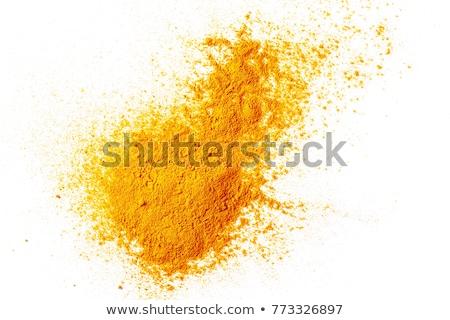 oranje · spiraal · schil · geïsoleerd · witte · ontwerp - stockfoto © marimorena