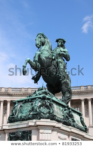 Stock photo: Prince Eugen of Savoy, Hofburg in Vienna, Austria