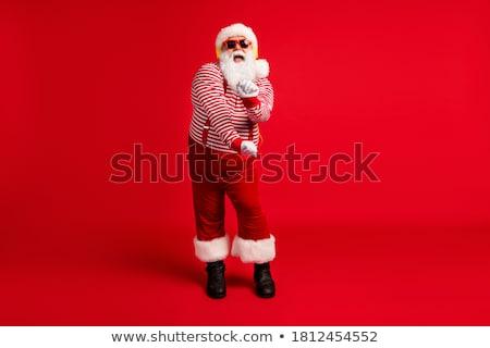 Senior Man with MP3 Player - Full Body stock photo © lisafx