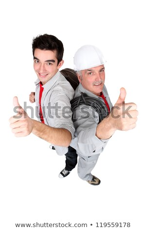 duo of tradesmen at work Stock photo © photography33