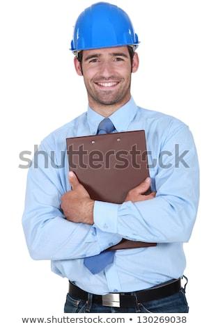 Surveyor holding a clipboard Stock photo © photography33