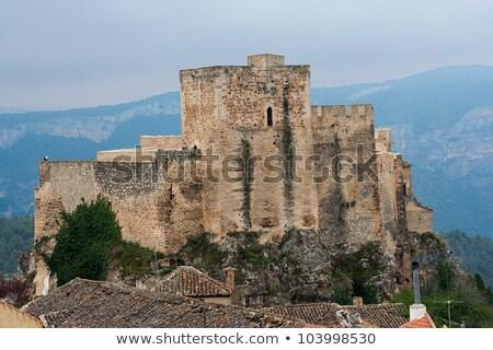Château arabe quoi frontière uni Europe Photo stock © Procy
