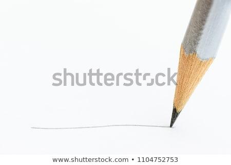 color pencils and pencil peels stock photo © deyangeorgiev