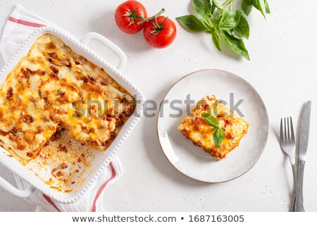 Square baking dish Stock photo © photography33