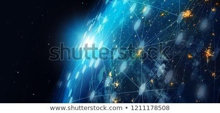 Comunicação global globo negócio internet terra Foto stock © Grazvydas