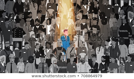 Concept of searching people or employee Stock photo © 4designersart