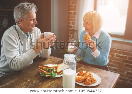 Elderly couple enjoying each other's company Stock photo © photography33