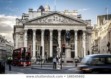 Londra · kraliyet · değiştirme · Bina · financial · district · gökyüzü - stok fotoğraf © snapshot