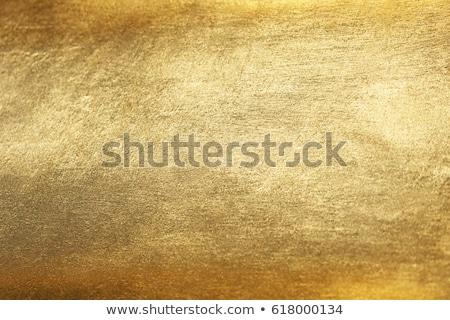 Altın Metal model plaka kare örnek Stok fotoğraf © obradart