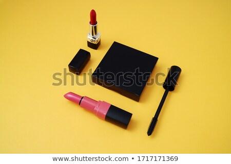 Belo lábios vermelhos praça moda beleza vermelho Foto stock © moses
