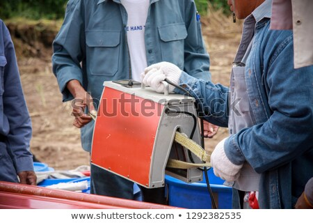 Standard workplace for repair of electronic devices Stock photo © vavlt