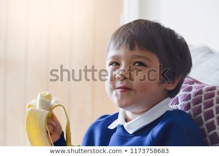 バナナ 手 栄養素 豊富な バナナ ストックフォト © javiercorrea15