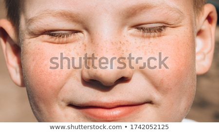 Close-up of boy smiling Stock photo © zzve