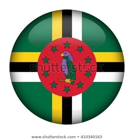 кнопки Доминика карта острове стране карт Сток-фото © Ustofre9