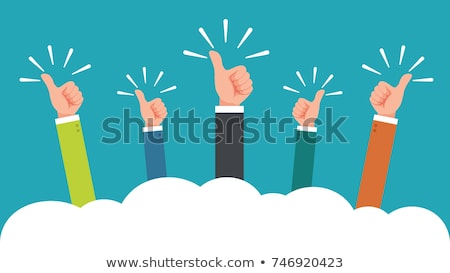 Businessman's Hand With Thumb Up Stock photo © evgenyatamanenko