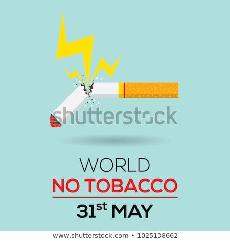 Stock photo: cigarette broken illustration