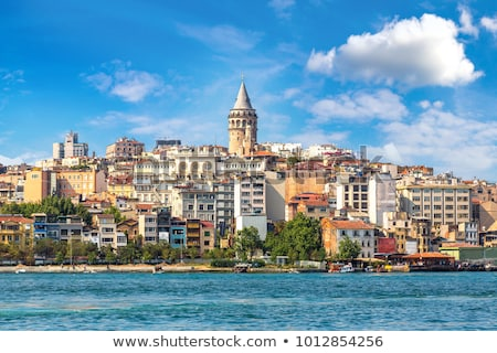 istambul · panorâmico · ver · torre · Turquia · dourado - foto stock © sailorr