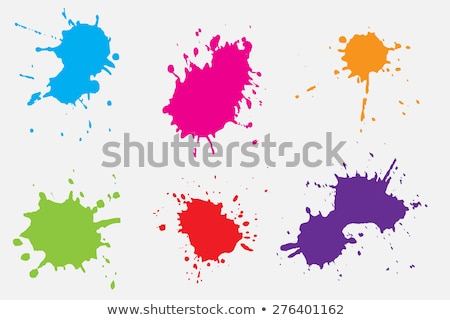 splashing paint stock photo © kubais
