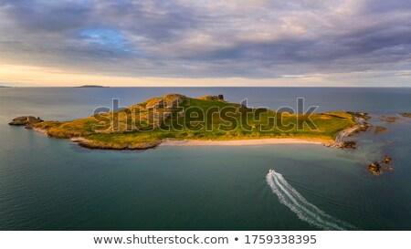 sailboat on atlantic of ireland Stock photo © mady70