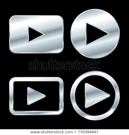Kluczowych ikona srebrny przycisk domu bezpieczeństwa Zdjęcia stock © aliaksandra