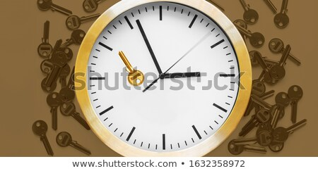 Workshop on Black-Golden Watch Face.  Stock photo © tashatuvango