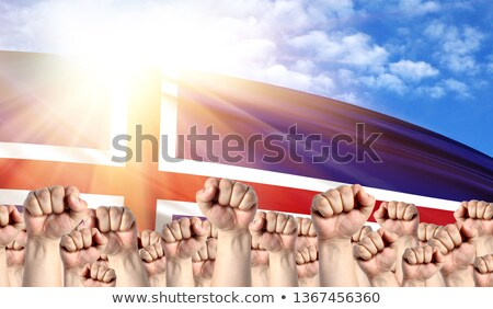 Iceland Labour movement, workers union strike Stock photo © stevanovicigor