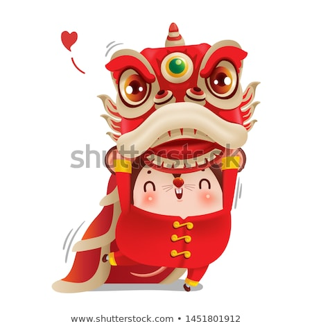 Chinatown lion Stock photo © Artlover